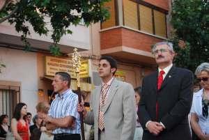 Presidente de la Hermandad y Concejales de la Corporación Municipal