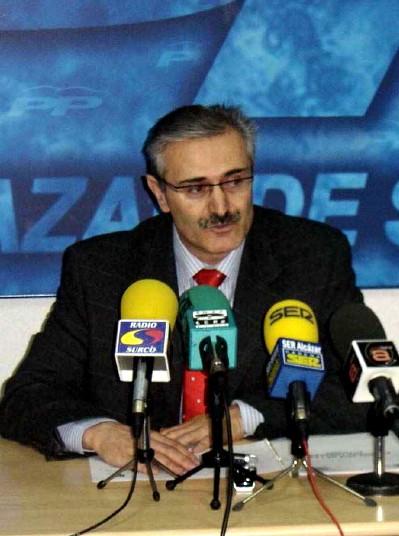 Constantino López Sánchez-T., Concejal del Partido Popular