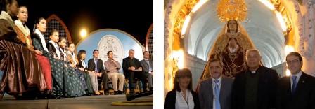 Los concejales populares Loli Pinardo y Diego Ortega asistieron al acto