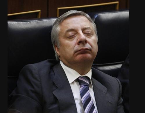 José Blanco, este martes en el Congreso de los Diputados (Foto: ABC)