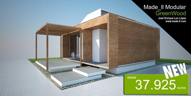 Viviendas modulares desarrolladas por un arquitecto for Viviendas modulares diseno