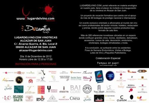 Invitacion ALCAZAR