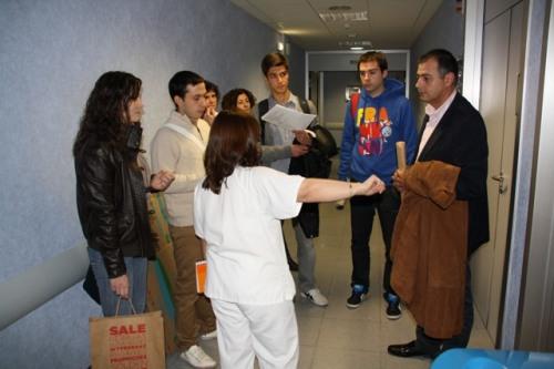 Los alumnos TER conocen instalaciones Rayos