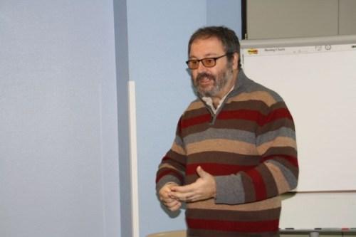 Ponencia de Javier Barbero en el Hospital Mancha Centro
