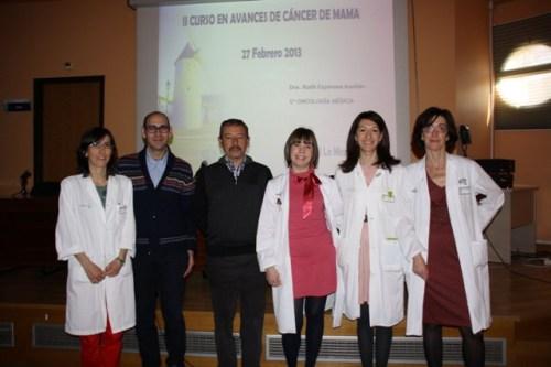 Ponentes II Curso avances cáncer mama Mancha Centro
