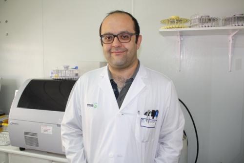 Manuel Castellanos en el Laboratorio de la UCA Alcázar
