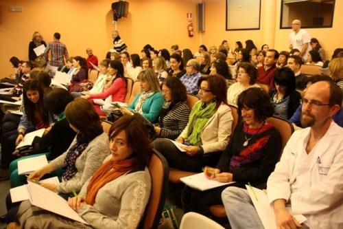 Asistentes jornadas educación y salud Alcázar