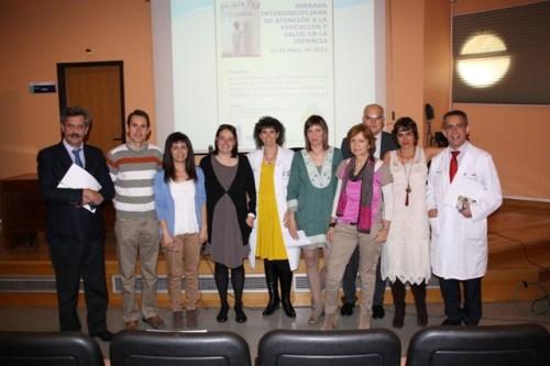 Ponentes y organizadores jornada ed y salud Alcázar