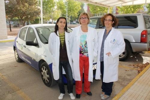 Profesionales de la Unidad de Paliativos Mancha Centro