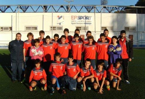 Equipo de infantiles de la E.F.B.F. de Alcázar de San Juan
