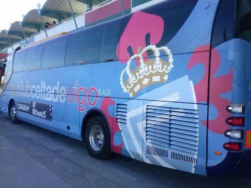 Autobús del Celta de Vigo