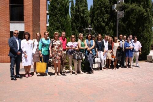 Reunión responsables Enfermería en Alcázar junio 2013