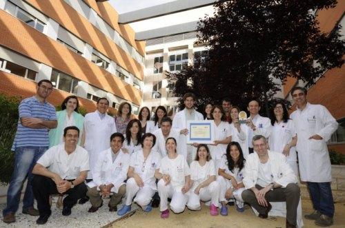 Equipo de Oftalmología del Hospital Mancha Centro de Alcázar de San Juan