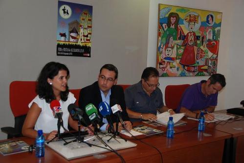 Rueda de prensa de presentación de la Feria