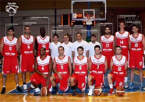 Plantilla del Seguros Soliss Alcázar Basket