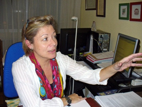 Concha Lozano Decana del Ilustre Colegio de Procuradores de Ciudad Real