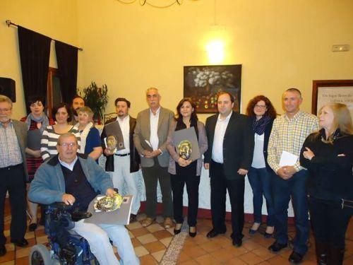 Acto de entrega de premios de la II Edicion de las Cartas de Sancho Panza a Teresa