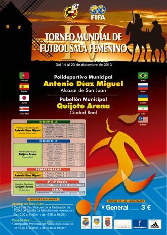 Cartel del Mundial de Fútbol Sala