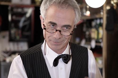 """El actor Miguel Romero en el cortometraje """"Café Irlandés"""", de Pablo Conde (Imagen: AGUSTÍN GONZÁLEZ)"""