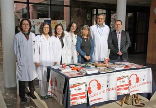 Asistentes Día Mundial Riñón en Mancha Centro