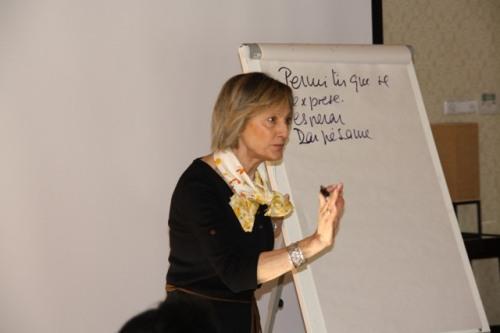 Carmen Segovia, docente curso ONT Alcázar