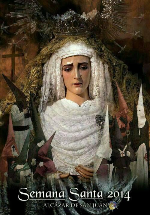Cartel de Semana Santa 2014 de Alcázar de San Juan