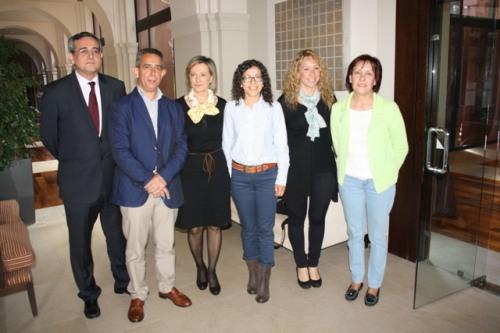 Organizadores y ponentes curso ONT Alcázar