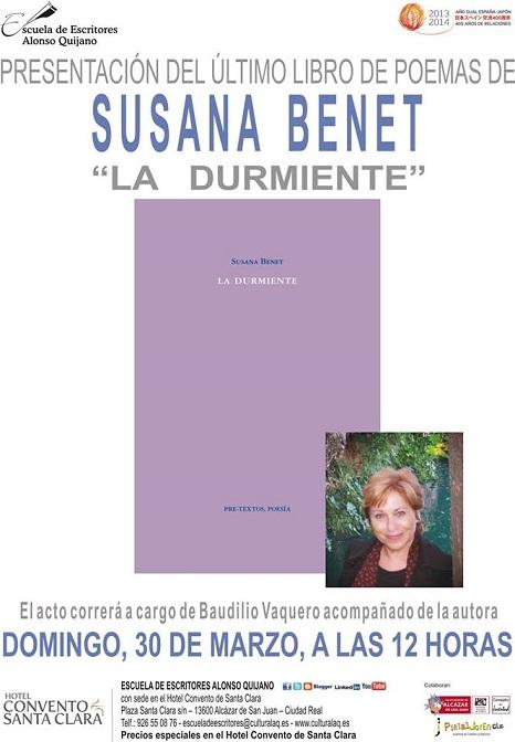 PRESENTACION LIBRO SUSANA BENET