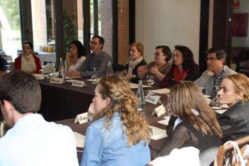 Profesionales sanitarios en el curso ONT Alcázar