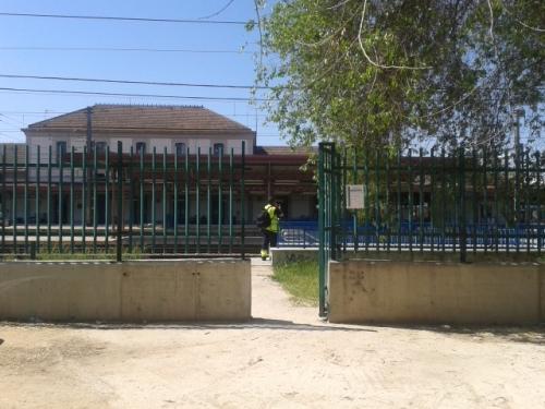 Vista de la estación desde el exterior