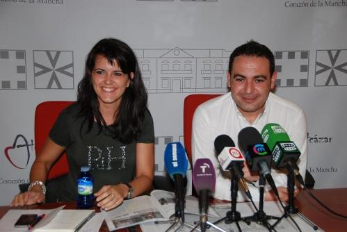 María Jesús Pelayo y Ángel Puente