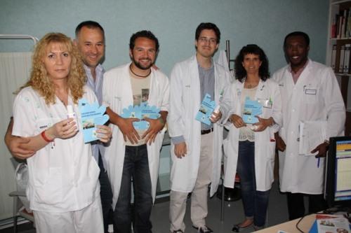 Profesionales participantes Día higiene de manos Mancha Centro