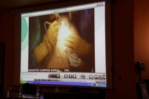 Retransmisión de cirugía en directo