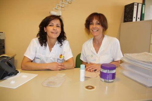 Enfermeras de la consulta de Ostomías