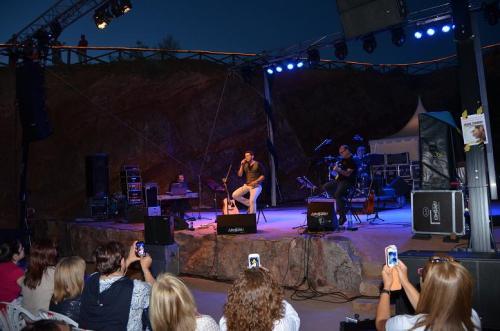 Otra imagen del concierto