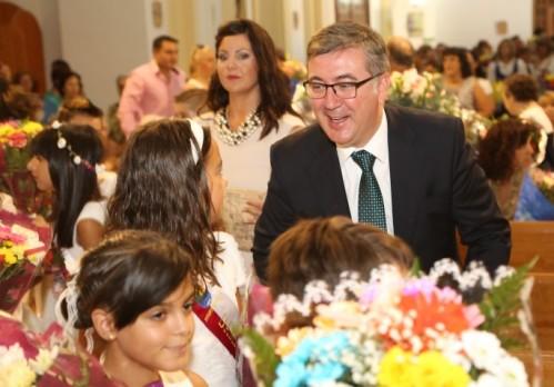 Marcial Marín, este viernes en Fuentealbilla