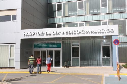 Fachada Hospital Día Médico Quirúrgico Mancha Centro
