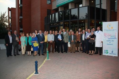 Foto de familia homenaje jubilados