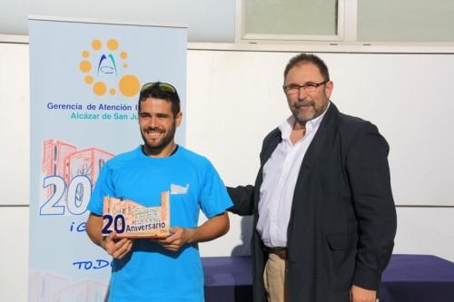 Ganador masculino absulota Ismael Almendros