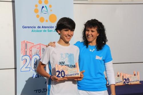 Ganador masculino infantil Gonzalo Castellanos