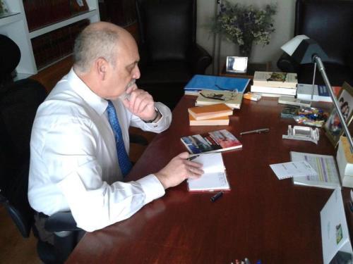 El autor, Mariano Velasco