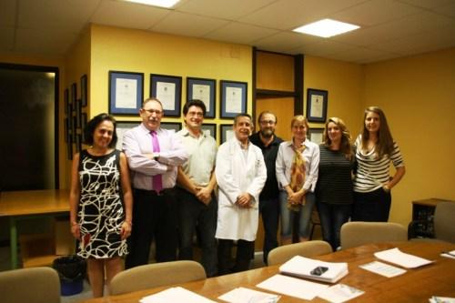 Miembros del jurado en el día del fallo de los ganadores