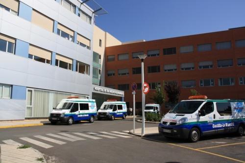 Salida desde los aparcamientos Hospital de Día Médico-Quirúrgico
