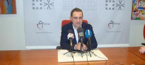 Ángel Puente, portavoz del gobierno municipal de Alcázar de San Juan