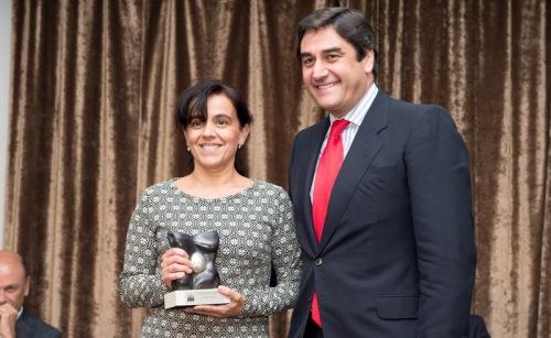Mº José Sánchez-Camacho recogió el TOP 20 del Hospital de Valdepeñas como supervisora de área