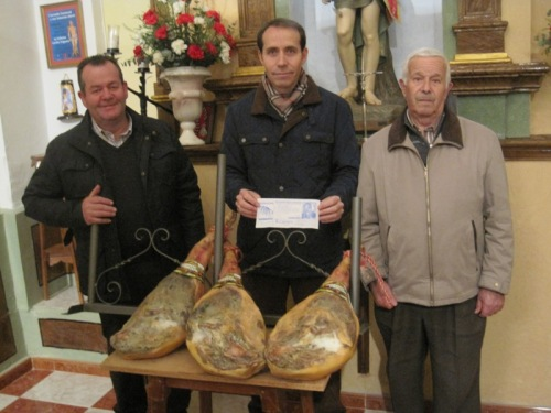 3 premio :  JUAN RAMON MARTINEZ MURAT, PRESIDENTE Y TESORERO HERMANDAD