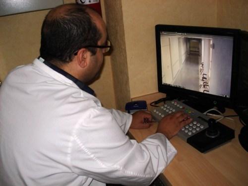 Central de videovigilancia Unidad Hospitalización Breve