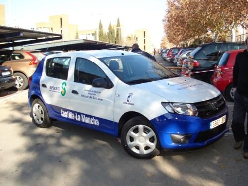 Nuevo coche de frente