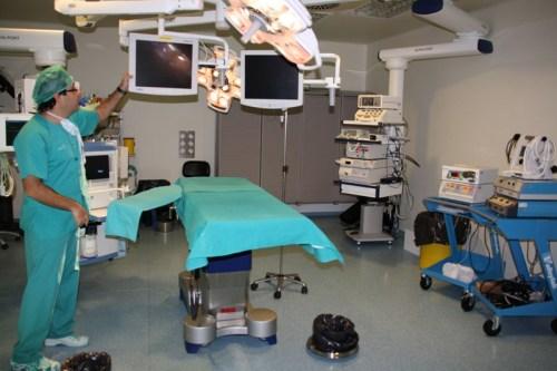 Quirófano de la Unidad de Cirugía Sin Ingreso de Alcázar