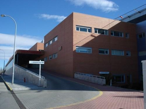 Acceso Urgencias Hospital de Alcázar